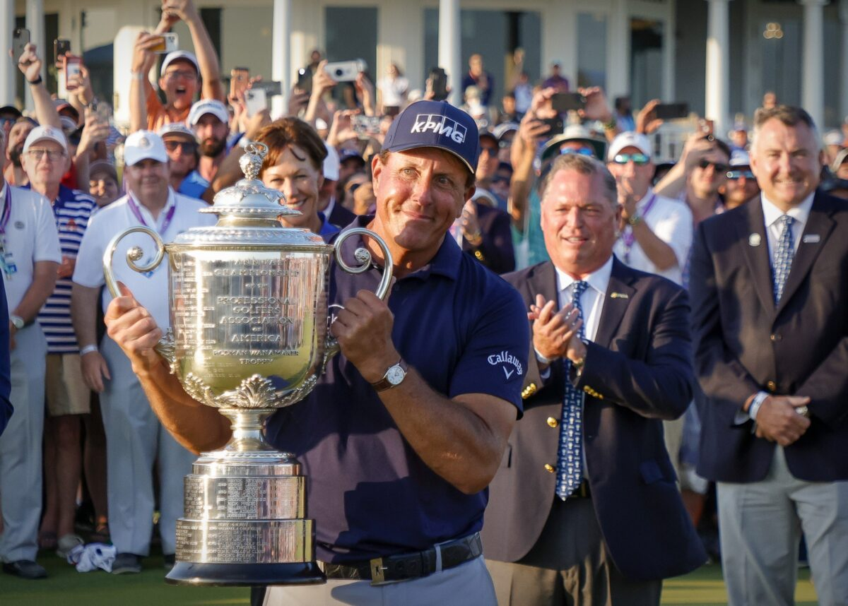 Phil Mickelson PGA Championship Win & 2021 College Football Week 1 Bets Look-Ahead